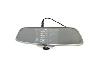 THANKO/サンコー 【ルームミラーに取り付けるだけ!】ミラー型360度全方位ドライブレコーダー CARDVR36