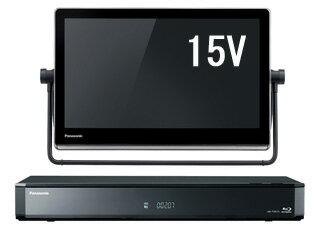 Panasonic/パナソニック UN-15TD7-K(ブラック) VIERA/プライベート・ビエラ 15V型HDDレコーダー付ポータブルテレビ