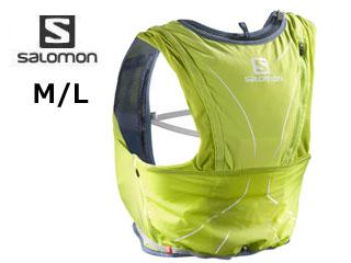 SALOMON/サロモン L39483500 ADV SKIN 12 NH 【M/L】(LIME PUNCH./VINTAGE INDIGO)