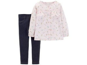 carters/カーターズ 【在庫処分】 18M 上下2点セット パステルピンク 239G78718