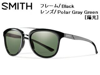 【nightsale】 Smith Optics/スミス CLAYTON Black 【レンズ/Polar Gray Green [偏光]】 【当社取扱いのスミス商品はすべて日本正規代理店取扱品です】