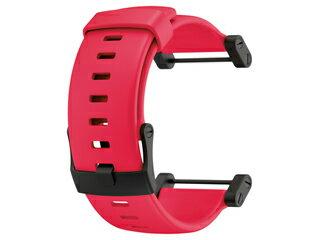SUUNTO/スント SS018820000 Flat Red Strap (ウレタン ストラップ フラット レッド) 【当社取扱いのスント商品はすべて日本正規代理店取扱品です】