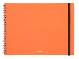 MARK'S/マークス アイデア用ノート・エディット・付箋セット付/EDiT EDI-NB03-OR アプリコットオレンジ