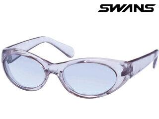 SWANS/スワンズ 【度付ダイレクトレンズ対応】YK-8-CLSM/SMH Assist Glasses Series サングラス 【花粉/紫外線/ドライアイ対策用 保護メガネ 】 (フレームカラー:クリアスモーク、レンズカラー:スモークハーフ)