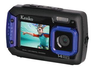 【納期にお時間がかかります】 KENKO/ケンコー DSC1480DW 防水デュアルモニターデジタルカメラ
