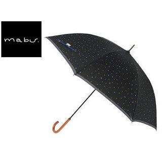 mabu world/マブワールド MBU-MCJ01 mabu×ことりっぷ 長傘 ジャンプ 日傘/晴雨兼用傘 ワンタッチスリム 全12色 58cm (01)