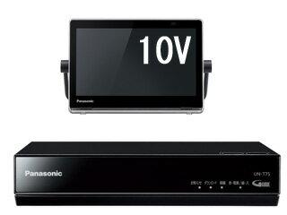 Panasonic/パナソニック UN-10T7-B(ブラック) VIERA/プライベート・ビエラ 10V型HDDレコーダー付ポータブルテレビ