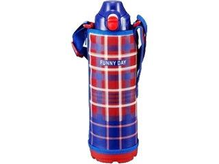 【在庫品限り!ご購入はお早めに!】 TIGER/タイガー魔法瓶 【在庫品限り!】MBO-F100-R ステンレスボトル (サハラ) 2WAY [直飲&コップ]【1.0L】(レッドチェック)