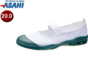 ASAHI/アサヒシューズ KD38564 アサヒドライスクール007EC【20.0cm・2E】 (グリーン)