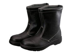 Simon/シモン 2層ウレタン底安全半長靴 27.5cm AW44BK-27.5