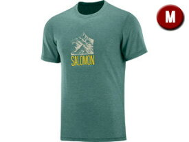 SALOMON/サロモン EXPLORE GRAPHIC SS TEE M Mサイズ (BALSAM GREEN) LC1271700