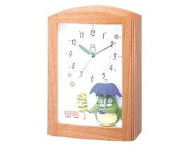 RHYTHM/リズム時計 4RM752MN06 となりのトトロ オルゴール目覚まし時計 トトロR752N (c)Studio Ghibli 【RPS160301】