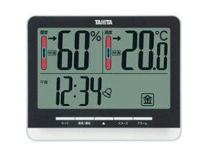 TANITA/タニタ デジタル温湿度計/ブラック/TT538BK