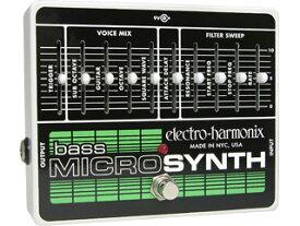 electro harmonix/エレクトロハーモニクス Bass Micro Synthesizer アナログシンセサイザー ベース用 【国内正規品】