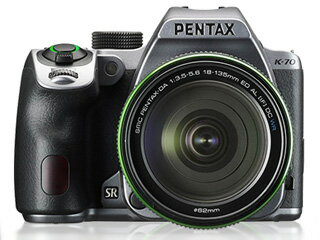 PENTAX/ペンタックス K-70 18-135WR キット(シルキーシルバー)