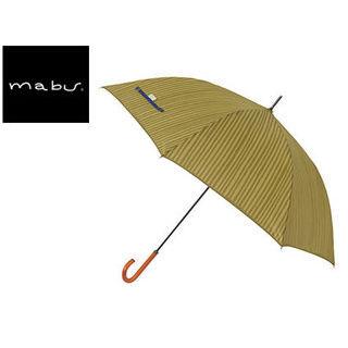 mabu world/マブワールド MBU-MCJ05 mabu×ことりっぷ 長傘 ジャンプ 日傘/晴雨兼用傘 ワンタッチスリム 全12色 58cm (05)
