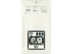 SANIPAK/日本サニパック N-73Nシリーズ70L透明 10枚 N-73-CL