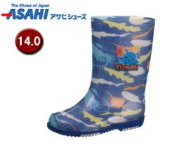 ASAHI/アサヒシューズ KL38404-1 サンリオ R283 レインブーツ 【14.0cm・2E】 (シンカイゾク)