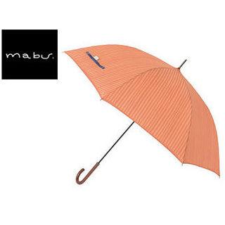 mabu world/マブワールド MBU-MCJ06 mabu×ことりっぷ 長傘 ジャンプ 日傘/晴雨兼用傘 ワンタッチスリム 全12色 58cm (06)