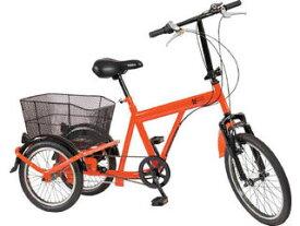 TRUSCO/トラスコ中山 【代引不可】災害時用ノーパンク三輪自転車 ハザードランナートライ THR5503