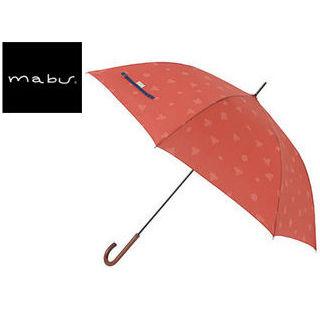 mabu world/マブワールド MBU-MCJ08 mabu×ことりっぷ 長傘 ジャンプ 日傘/晴雨兼用傘 ワンタッチスリム 全12色 58cm (08)