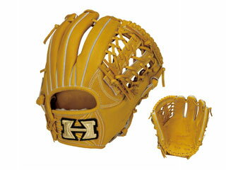 HI-GOLD/ハイゴールド KKG-1145 硬式グラブ三塁手・オールポジション用 心極和牛 (ライトタン) 【右投げ用】