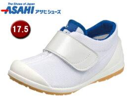 ASAHI/アサヒシューズ KC36503-1AA アサヒ健康くん 502A カジュアルシューズ 【17.5cm・3E】 (ホワイト/ネイビー)