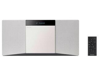 PIONEER/パイオニア X-SMC02(W)(ホワイト) スタイリッシュCDミニコンポ