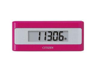 CITIZEN/シチズン・システムズ 電子マネービューアー付歩数計/ピンク/TWTC501‐PK