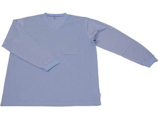 TRUSCO/トラスコ中山 保護服用インナー サラ感インナー 長袖シャツ XXLサイズ TR6001TXXL