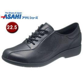 ASAHI/アサヒシューズ KS23514 快歩主義 L135 レディース ウォーキングシューズ 【22.5cm・3E】 (ブラック)