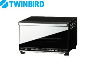 【nightsale】 【台数限定!ご購入はお早めに!】 TWINBIRD/ツインバード 【オススメ】TS-D057B ミラーガラスオーブントースター(ブラック)