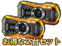 RICOH/リコー RICOH WG-50(オレンジ)×2台セット【wg50set】