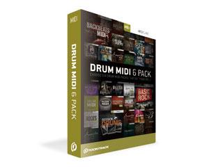 TOONTRACK/トゥーントラック DRUM MIDI 6PACK (ドラム・ミディ・6パック)