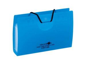 LIHIT LAB./リヒトラブ AQUA DROPs ポイントカードホルダー 10枚 青 A-5002-8 10枚用(ヨコ入れタイプ)