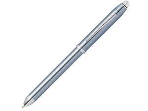 CROSS / クロス 複合ペン テックスリー 【 フロスティスティールラッカー 】 黒赤&0.5mmペンシル NAT0090-14ST
