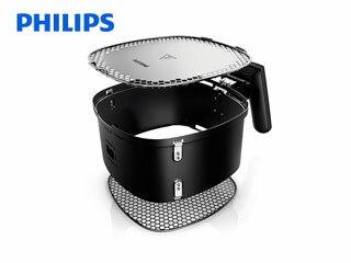 PHILIPS/フィリップス HD9980/20 ノンフライヤー バスケット (黒)
