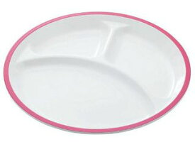 永山樹脂 丸ランチトレー ピンク
