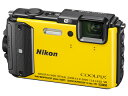 Nikon/ニコン COOLPIX AW130(イエロー) クールピクス【あす楽対商品】