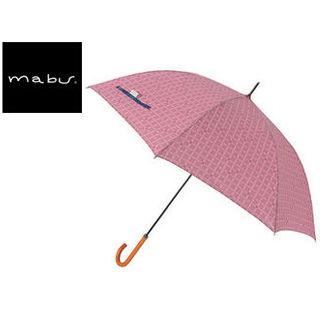 【nightsale】 mabu world/マブワールド MBU-MCJ12 mabu×ことりっぷ 長傘 ジャンプ 日傘/晴雨兼用傘 ワンタッチスリム 全12色 58cm (12)
