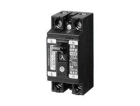 Panasonic/パナソニック BJS3011N 小形漏電ブレーカ 2P1E O.C付 30A 10mA