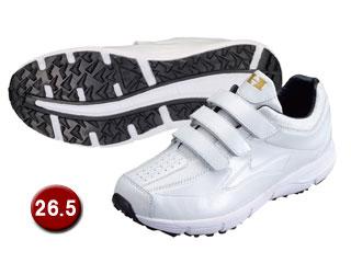 HI-GOLD/ハイゴールド PU-800W トレーニングシューズ 【26.5cm】(ホワイト/ホワイト)