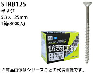 NOGUCHI/ノグチ 【TAKUMIDIKARA/匠力】TRステンコース(410) 半ネジ STRB125