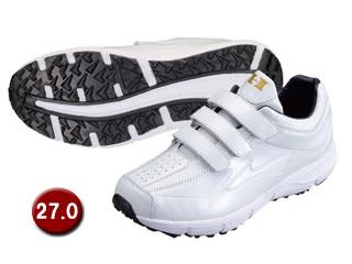 HI-GOLD/ハイゴールド PU-800W トレーニングシューズ 【27.0cm】(ホワイト/ホワイト)