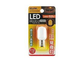 ELPA/エルパ/朝日電器 LDT1YR-G-E12-G1001 LED常夜灯 【1個入】