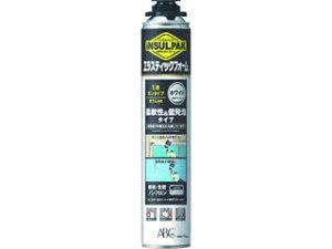 ABC/エービーシー商会 簡易型発泡ウレタンフォーム 1液ガンタイプ 弾性ウレタンフォーム インサルパック 750ml ELASF インサルエラスティックフォーム/フォーム色:ホワイト