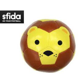 【在庫限り】 SFIDA/スフィーダ BSFZOOB-2 SFIDA クッションボール Football Zoo Baby 【1号球】 (ライオン)