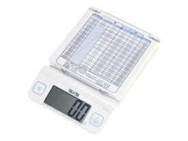TANITA/タニタ デジタルレタースケール ホワイト KD-194L-WH