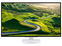 Acer/エイサー IPSパネル採用 31.5型ワイドLED液晶ディスプレイ ER320HQwmidx ホワイト