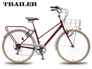 TRAILER/トレイラー TR-CT2601-BD 26インチシティバイク 6段変速 RETLY (ボルドー) メーカー直送品のため【単品購入のみ】【クレジット決済のみ】 【北海道・沖縄・離島不可】【日時指定不可】商品になります。